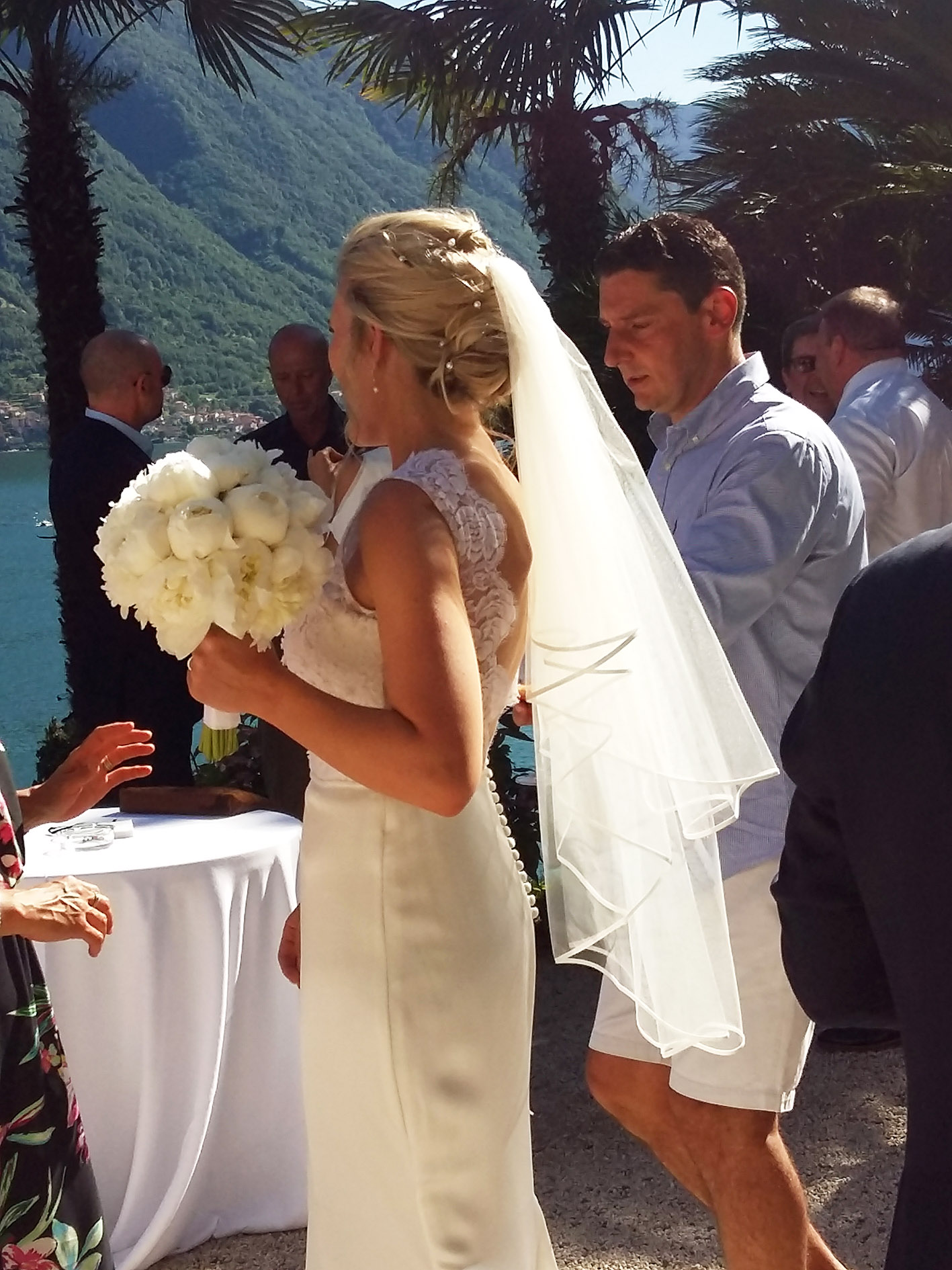 wedding lake bride   Events Lake Como